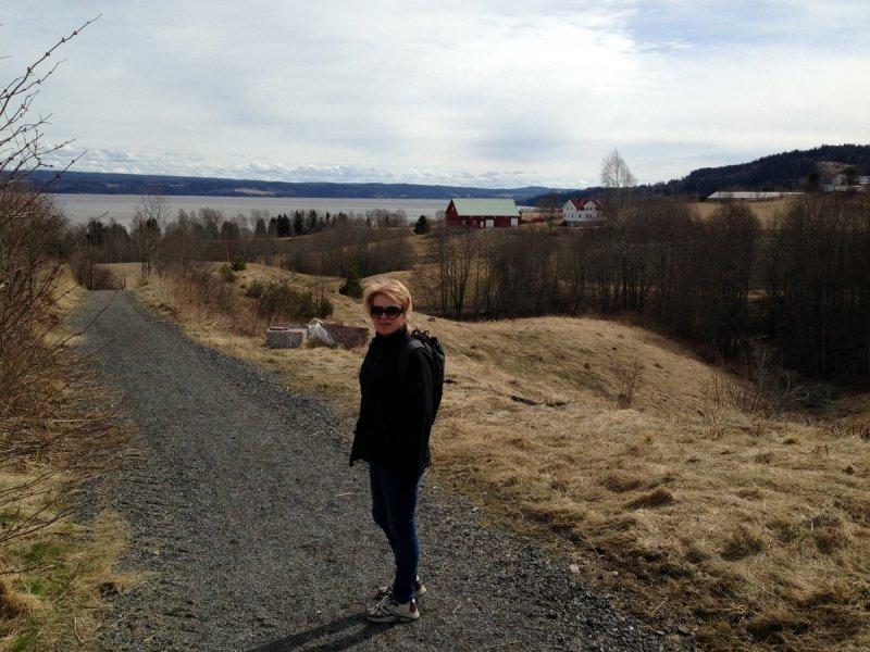 Ridestien fra Tomterveien til Uller.
